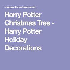 626d1d3c877f82 Harry Potter Christmas Tree - Harry Potter Holiday Decorations Harry Potter  Christmas Tree