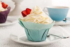 Post image for Gluten Free Strawberry Shortcake Cupcakes Recipe