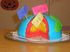 Teach the layers of the Earth in a sweet, memorable way with this cake.