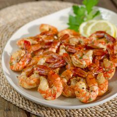 Smoked shrimp are an easy paleo, gluten-free appetizer or main dish. Serve them with a simple herb garlic butter or your favorite dipping sauce.