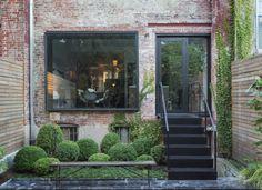 Kristin Meidell Brooklyn courtyard garden by Matthew Williams