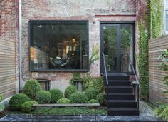 Kristin Meidell Brooklyn courtyard garden by Matthew Williams