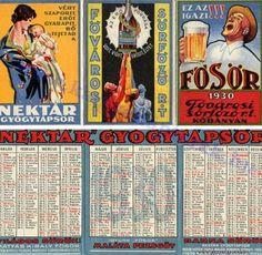 1930 - 1930_0012 - Régi magyar kártyanaptárak