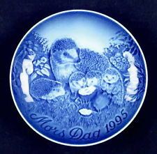 Bing & Grondahl MOTHERS DAY PLATE 1995 Hedgehog 61196