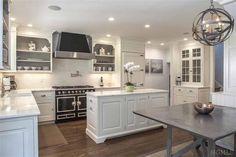 Black La Cornue Range, Transitional, Kitchen, Ken Gemes Interiors