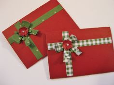 Gift Card Holders - fronts