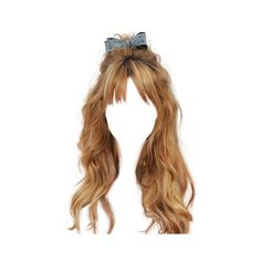 Hairstyles ❤ liked on Polyvore featuring hair, doll hair, wigs, cabelos, doll parts and fillers