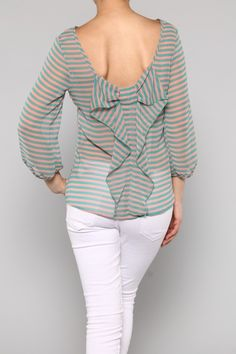 Stripes and bows top - Love it!!! (http://www.fashforwardboutique.com/stripes-and-bows-top/)