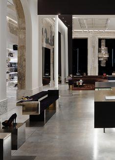 Antonia boutique, Palazzo Cagnola, Milano, Italy by Vincenzo De Cotiis Architects