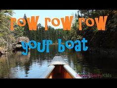 Row Row Row Your Boat - Kids Songs - Boysenberry Kids
