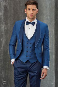 Compre Personalizado Homem Azul Escuro Praia Blazers Homens Ternos Para Ternos De Casamento Dos Homens Do Noivo Smoking Traje Homme 2 Peças Casaco