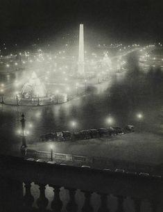 Brassaï, Place de la concorde (1930s)