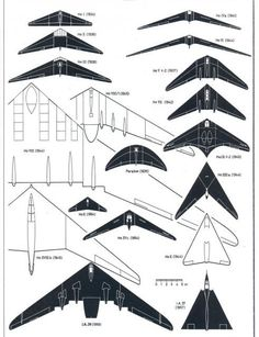 "In 1930/40's in Germany, Horten Brothers, Walter + Reimar, built succession of flying wing designs. Quite advanced and cutting edge for time. ""Ho"" series is:"