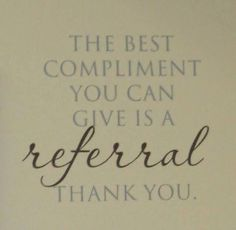 I love what I do...let your friends know you do too. #referral #esthetician