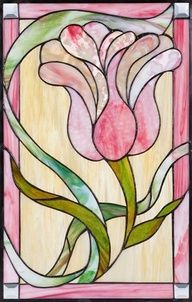 Isabelle Ravet | Traditional Stained Glass Window