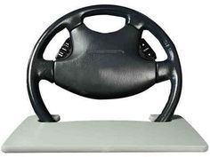 Steering Wheel Laptop Desk - http://coolgadgetsmarket.com/steering-wheel-laptop-desk-2/