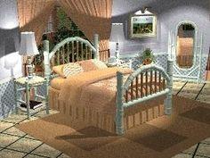 Planos de mobília do quarto