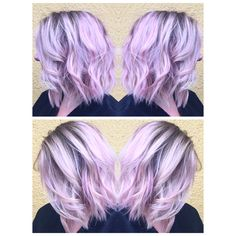 Pink pastel hair by me! Full balayage, gloss with pravana