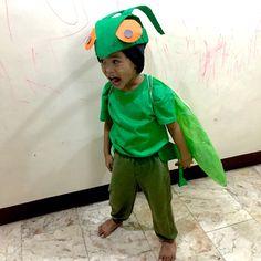 Grasshopper Costume