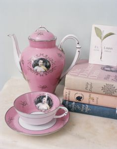 This would be really awesome if someone painted me onto a tea set