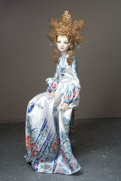 Enchanted Doll by Marina Bychkova. More than mere playthings, Enchanted Dolls are a brand of elegantly sculpted and articulated works of art. Ball Jointed Dolls, Ooak Dolls, Barbie Dolls, Marina Bychkova, Enchanted Doll, Living Dolls, Doll Maker, Hello Dolly, Beautiful Dolls