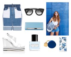 """""""[BLUE CRUSH] 2016 BRYAN YANG'S PERFECT MATCHING 206"""" by bryan-yang ❤ liked on Polyvore featuring Nicholas Kirkwood, Prada, Dsquared2, Yves Saint Laurent, Marc by Marc Jacobs, Marc Jacobs and Sonix"""