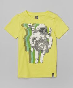 Love this Charlie Rocket Lemonade Astronaut Tee - Toddler & Boys by Charlie Rocket on #zulily! #zulilyfinds