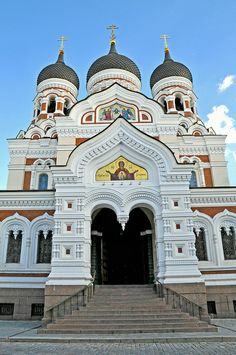 Alexander Nevsky Cathedral, Toompea, Vana  Tallinn (Olde Towne)