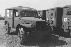 Dodge WC54 Ambulance ~