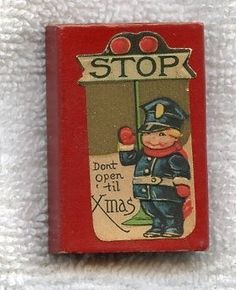 Vintage 1940s Gibson Christmas Dont Open seals BOX ly (06/01/2011)