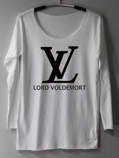 LV Lord Voldemort Shirt Harry Potter Shirts par ThinkingGallery, $16.00