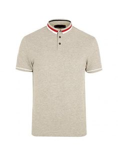 WHOLESALE RED AND WHITE COLLARED POLO T SHIRT