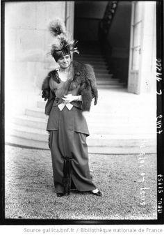 Modes à Longchamp, 1914