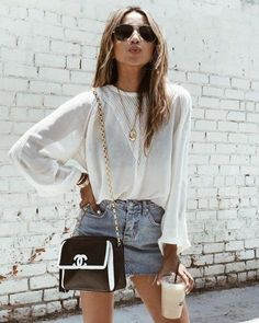 We all love some casual outfits right? here you have my favorite casual fashion trends of this year ! come and inspire yourself! Looks Street Style, Looks Style, My Style, Mode Outfits, Trendy Outfits, Fashion Outfits, Modest Fashion, Chic Outfits, Spring Summer Fashion
