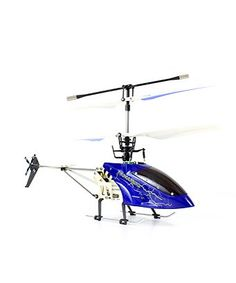 24 Ghz Helizone RC Thunderbird 4 CH Gyro Remote Control Helicopter  Blue *** For more information, visit image link.Note:It is affiliate link to Amazon.