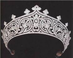 La tiare de lady Edwina Mountbatten.