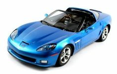 Officially Licensed Licensed Chevy Corvette C6 GS Electric RC Car 1:12 RTR (Colors May Vary) Big Size, Authentic Body Styling by Velocity Toys. $42.95. Requires 5 AA Batteries (not included) Remote Control requires 9V Battery (not inlcuded). Full Function for Easy Driving 1:12 Scale High Gloss Paint Job Extremely Detailed Interior and Exterior. Chrome Rims with Silver Brake Calipers Rastar Rubber Grip Tires Working Headlights and Rear Lights Chrome Exhaust. Features:  Offi...
