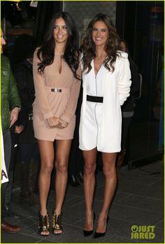 Adriana Lima & Alessandra Ambrosio Model Victoria's Secret Fantasy Bra - See the Photos! | adriana lima alessandra ambrosio talk vs fantasy bra 10 - Photo