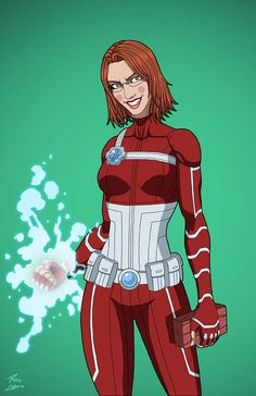 """Liza Radley"" sponsored by Patreon patrons for Roysovitch's project. Character belongs to DC Comics."