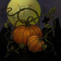 Pumpkin Carving, Pumpkins, Fields, Challenges, Halloween, Digital, Amazing, Painting, Art