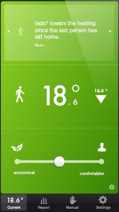 thermostaat bedienbaar via iPhone