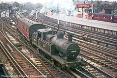 David Heys steam diesel photo collection - 27 - BR LONDON MIDLAND - 1