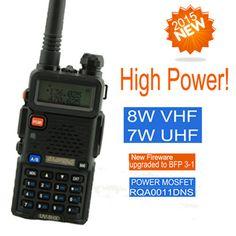 Walkie Talkie Baofeng UV-8HX Dual band UHF VHF Portable Radio Scanner For 2 Two Way Radio Transceiver Baofeng uv-5R Ham Radio