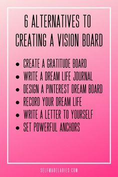 No time to design vision board or just tired of your good old dream board? Check out these 6 alternatives to your visio. Cold Home Remedies, Natural Remedies For Anxiety, Natural Cures, Herbal Remedies, Natural Health, Natural Skin, Health Remedies, Holistic Remedies, Planner Free