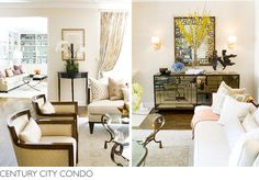 Century City Condo | Erinn V Design Group