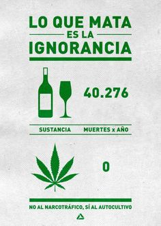 Toda la verdad sobre las drogas que no quieren que sepas.