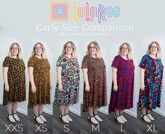 LuLaRoe Carly Size Comparison - LuLaRoe Becca Swanson