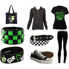 Emo outfits