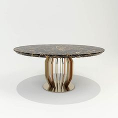 Dining Table in champagne and copper finish base and Portoro marble top Geneve Collection arredi-m2l.it  #luxury #luxuryfurniture #luxuryhome #madeinitaly #contemporarydiningtable #diningtable #designinspiration