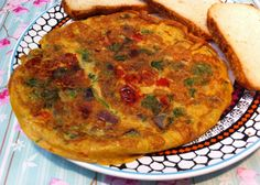 Easy to make Indian Masala or spicy Omelette
